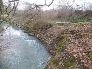 Vue depuis la rivière