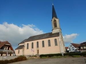 L'église de Liebsdorf, 1er refuge Alsacien pour les chauves-souris